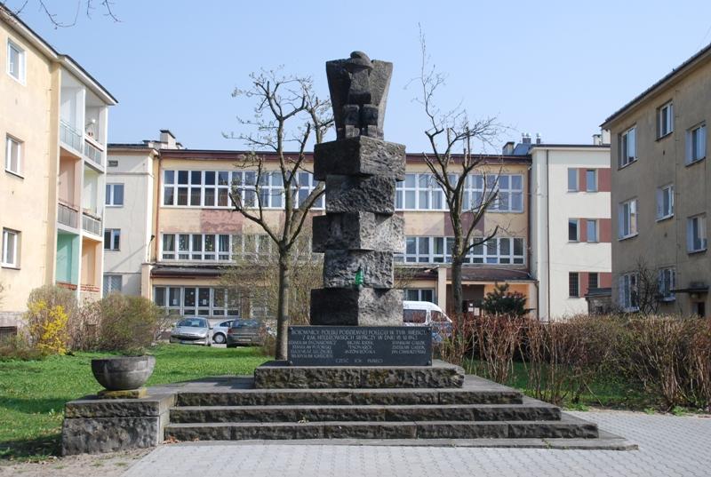 Kielce Ul Urzędnicza Pomnik Ofiar 18 Listopada 1943 R Portal