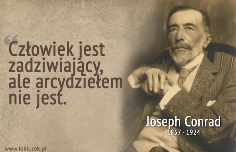 Joseph Conrad 1857 1924 Między Lądem A Morzem Portal